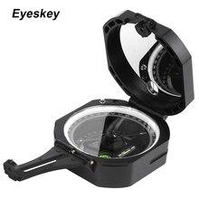Eyeskey profesjonalny kieszonkowy tranzytowy kompas lekki wodoodporny Survival geologiczny kompas nawigator w lesie