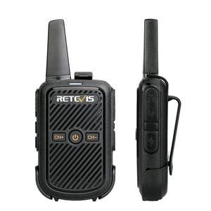 Image 1 - Retevis RT15 Mini Walkie Talkie Radio 2pcs 2W UHF 400 470MHz Radio Station VOX Two Way Radio Comunicador Camping Hunting Hiking