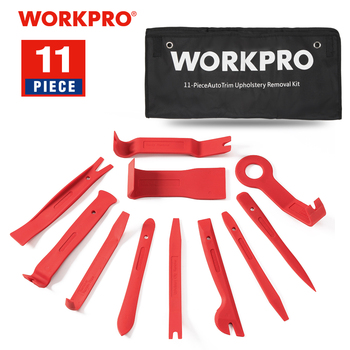 WORKPRO Car Repair Tool Set Auto Upholstery Removal Kits Interior Radio Panel Door Clip Windows Trim Installer Pry - discount item  50% OFF Tool Sets