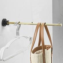 Swivel Towel bar Movable Towel rails golden polished Indoor Towel Holder bathroom accessories