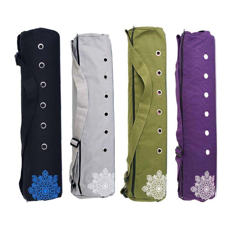 Парусиновая сумка-чехол для Йоги (70×18 см/4 цвета) с отверстиями
