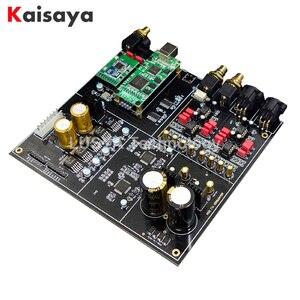 Image 1 - Dual AK4497EQ DAC AK4118 DAC decoder CSR8675 Bluetooth 5.0 support APTX HD DSD Coaxial fiber Input T0656