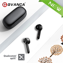 GVANCA M5 Qualcomm Chip TWS Wireless Bluetooth 5.0 Earphone Touch Control Wireless Headphones Support SBC?AAC?APTX  Decode