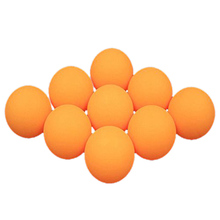 50 pcs 40 mm table tennis training balls, ping pong Yelow/White Random