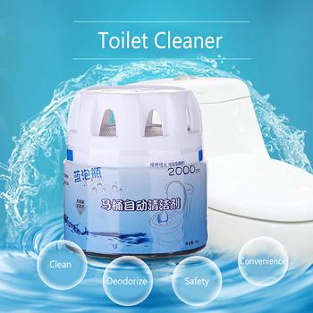 Spienianie środków czyszczących automatyczny środek czyszczący do wc dezodorujący w łazience magiczny spłukiwany butelkowy bańka niesamowity dezodorujący toaletowy tanie i dobre opinie Tablet 1 pc 80 ml 6x6 8cm Support Eco-Friendly toilet cleaner quick foaming toilet cleaner restroom accessories toilet bubble bombs