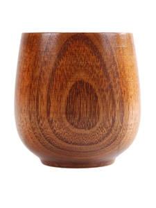 1pc Jujube Wood Cup Primitive Handmade Natural Spruce Wooden Cup Breakfast Beer Milk Drinkware Green Tea Cup water bottle