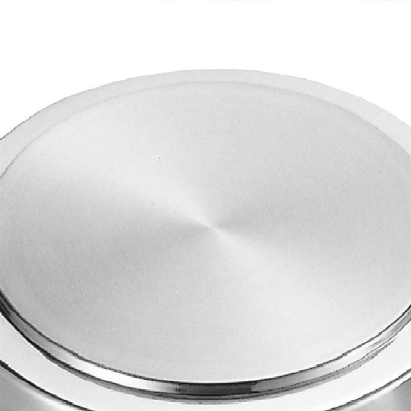 4PCS Stainless Steel Round Stove Top Cover Household Easy Clean Burner Covers