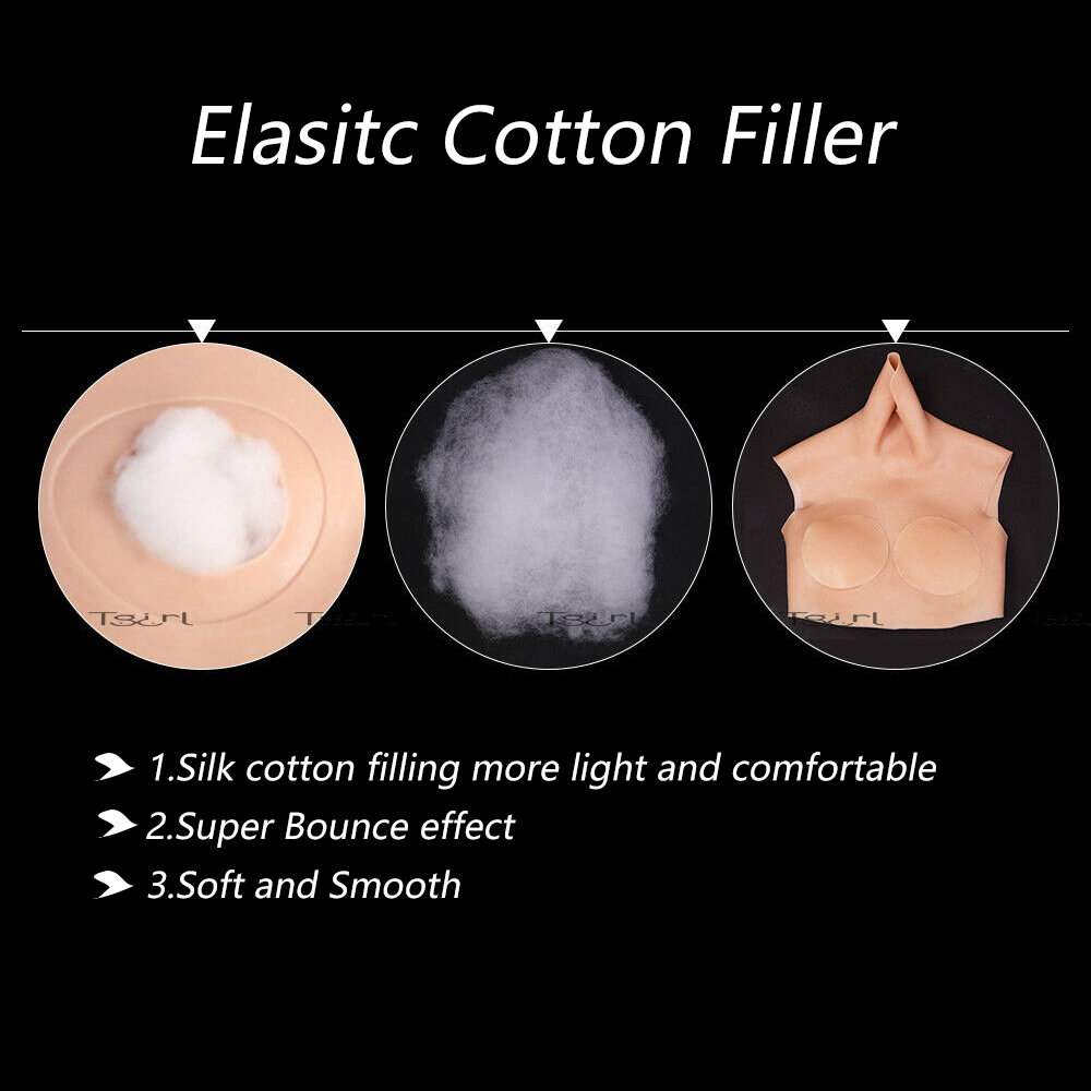 Image 5 - Tgirl Crossdressing Silicone Suit Boobs For Crossdressers Drag queen D Cup Big Fake Breast Forms    -