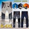 Tactical Waterproof Pants Men Cargo Spring Summer Quick Dry Trousers Men's Outdoor Sports Trekking Camping Fishing Pants 4XL 26