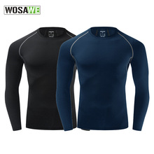 WOSAME Men's Cycling Sport Cycling Gym Clothing Cycling Sleeves Sportswear Bodybuilding Sports Fitness Long Sleeves Clothes