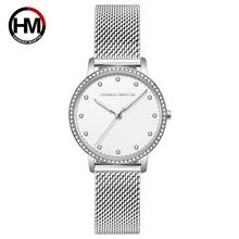 New Diamond Woman Watches High Quality Luxury Mesh Brand Sliver Woman Bracelet Watch Japan Quartz Movement Relogio Feminino 2019 attractive 2017 new design gold and sliver lady diamond bracelet watch mirror luxury quartz alloy watch high quality my 10