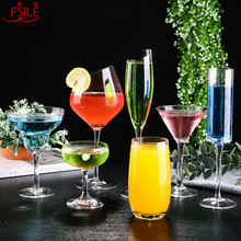 Creativeแก้วค็อกเทลแก้วบุคลิกภาพแก้วไวน์บาร์Martini Glass Margaretแก้วแชมเปญชุดWedding Toasting