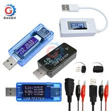 USB Тестер DC Цифровой вольтметр Amperimetro измеритель напряжения тока Амперметр детектор power Bank зарядное устройство индикатор USB доктор