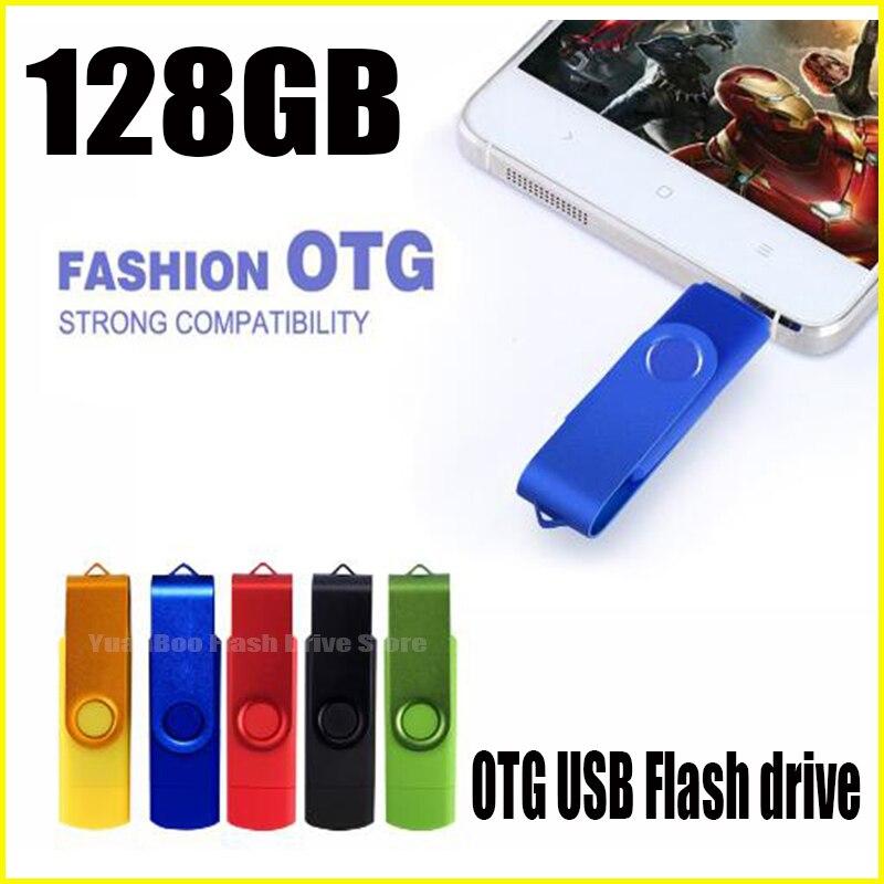 Colorful OTG USB Flash Drive Cle USB 2.0 Pen Drive 128 GB Pendrive 1TB 512GB 256GB 128GB Memoria USB Sitck Storage Devices