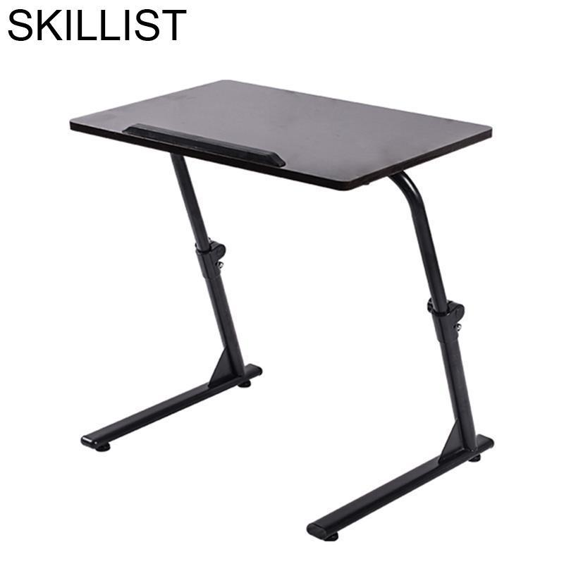 Portatil Small Tafelkleed Lap Bed Tray Escritorio Biurko Schreibtisch Adjustable Laptop Mesa Bedside Study Table Computer Desk