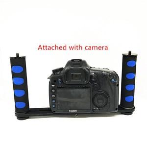 Image 2 - Jadkinsta Handheld Rig Camera Handheld Stabilizer Steadicam for Gopro Smartphone DSLR Tray Mount for Canon Nikon for Sony Camera