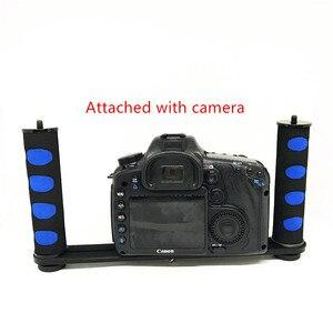 Image 2 - Jadkinsta stabilisateur portatif de caméra de plate forme pour Smartphone Gopro support de plateau DSLR pour Canon Nikon pour appareil photo Sony