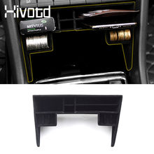 Hivotd – boîte de rangement multi-grille pour Console centrale de voiture Skoda, conteneur de grande capacité, accessoires d'intérieur