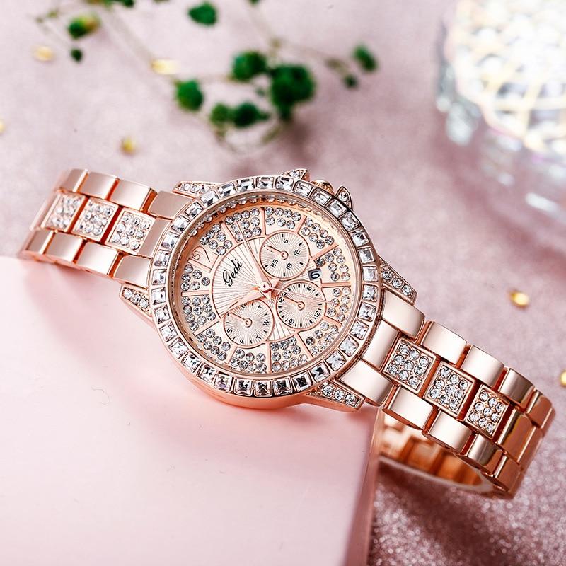 Women Watches Women Fashion Watch 2020 steel belt watches Ladies Watch Luxury Brand diamond Quartz  Wrist Watch Gifts For Women