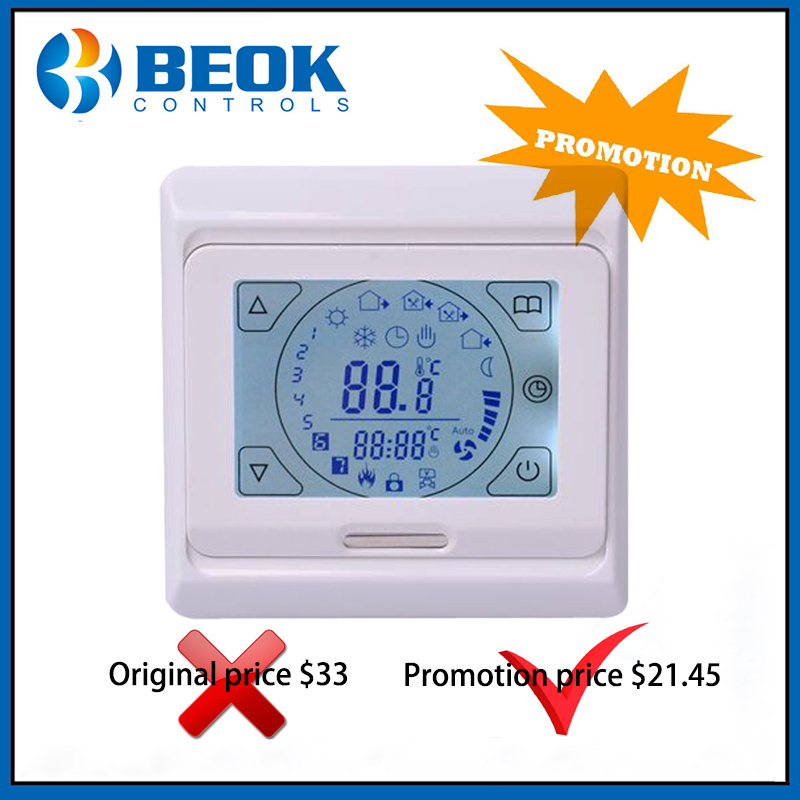 Beok TST70-EP Programmable Floor Heating Thermostat 16A Electric Heating Thermoregulator