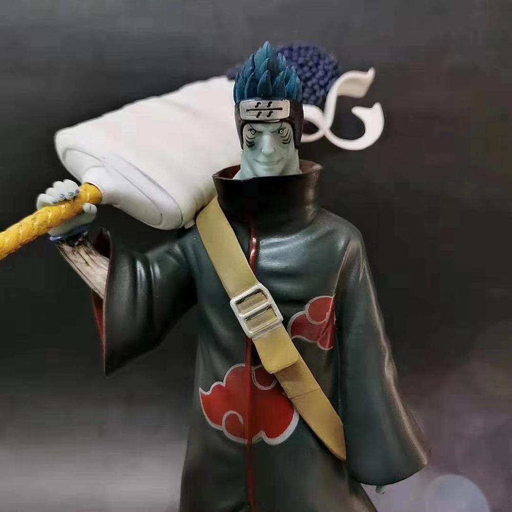 Free Shipping Naruto Hoshigaki Kisame Figure Naruto Shippuden Action Figure Model PVC Konoha no Kedakaki Aoi Moju Toys B19 1