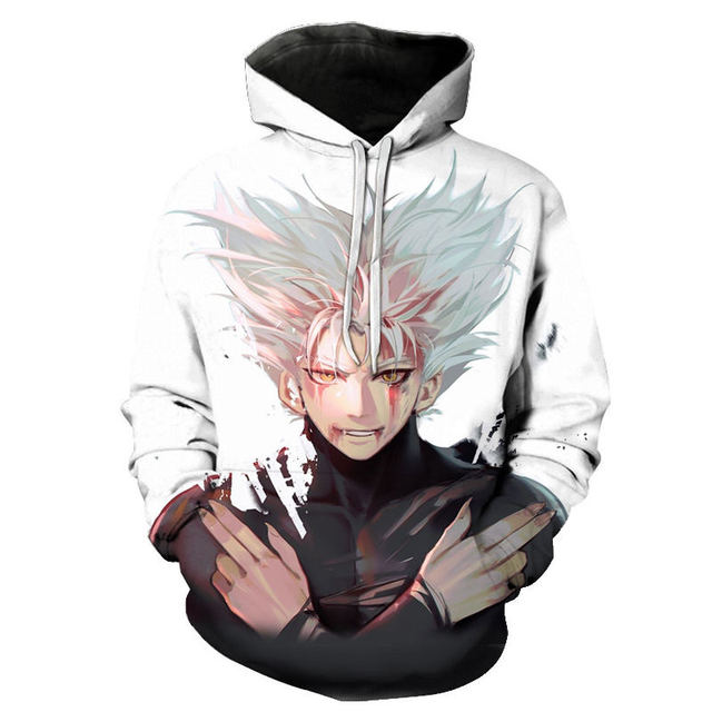 ONE PUNCH MAN THEMED 3D HOODIE (21 VARIAN)
