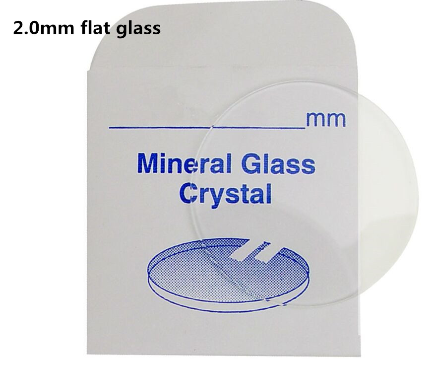 Cristal de Vidro Mineral Padrão Redondo Liso Grosso 2mm