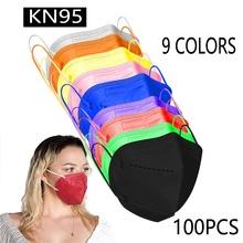 KN-95 jednorazowe pokrowce na 5-warstwa włókniny usta nos cień do powiek straż dla mężczyźni kobiety tanie tanio CN (pochodzenie) Anty chrapanie zacisk na nos high quality non-woven 100 New Sleep chrapanie