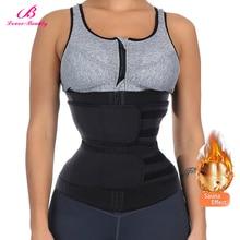 Neoprene cinta de modelagem do corpo para cintura, cinto de emagrecimento, treinador cincher, sauna, cinto de suor