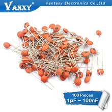 100pcs ceramic capacitor 50v…