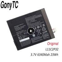 L11C2P32 Echtem Tablet batterie für LENOVO IdeaTad S6000 S6000-F S6000-H A7600 A7600-HV A7600-F S6000L-F L12D2P31 Original