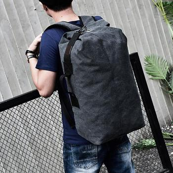 Backpack Travel Bag High Capacity Outdoors Men Canvas Field Survival Picnic Traveling Backpack 1