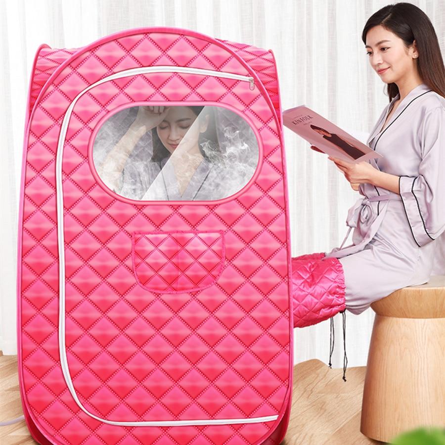 Portable Sauna Folding Steam Sauna Room larger Tent Use 2.3L Steam  Generator Lose Weight Detox Therapy Steam Fold Sauna Cabin|Sauna Rooms| -  AliExpress