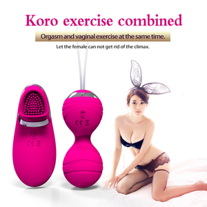 Image 4 - Vibrator Kegel Balls Remote Control Egg for Women Mini Vaginal Chinese Balls Sex Vibrating Kegel Simulator Women Toys