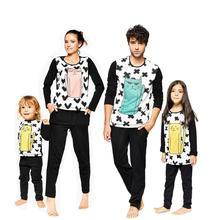 Family Christmas Pajamas Set Family Clothes Adult Children Pajamas Baby Pajamas Family Matching Clothes h kong baby children s pajamas set boy cartoon pajamas girl cute family 100