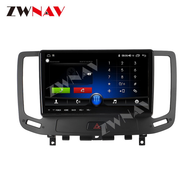 IPS DSP Android 9 IPS Screen Car Multimedia For Infiniti G ser Co One Outback Radio Tape Recorder Head unit Car Multimedia Playe 2