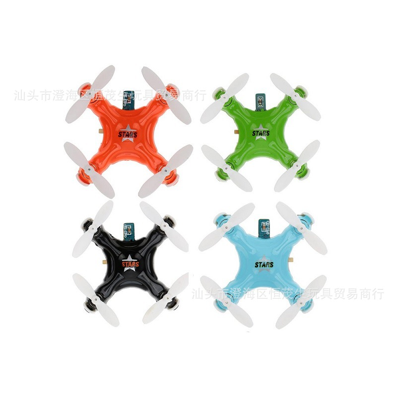 Chengxing CX-Stars Mini Pocket Unmanned Aerial Vehicle Model Airplane Remote Control Aircraft Mini Four-Rotor Quadcopter
