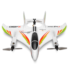 Gift Toy DIY Assemble Drone Fixed Wing RC Plane Landing Mini Flying Vertical Takeoff Brushless 6 Way Airplane Aircraft 3D/6G xk x520 rc 6ch 3d 6g airplane vtol vertical takeoff land delta wing rc drone fixed wing plane toy with mode switch led light