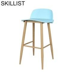 Tamborete de barkrukken ikayaa tabuete de barra de madeira moderna cadeira de barra moderna
