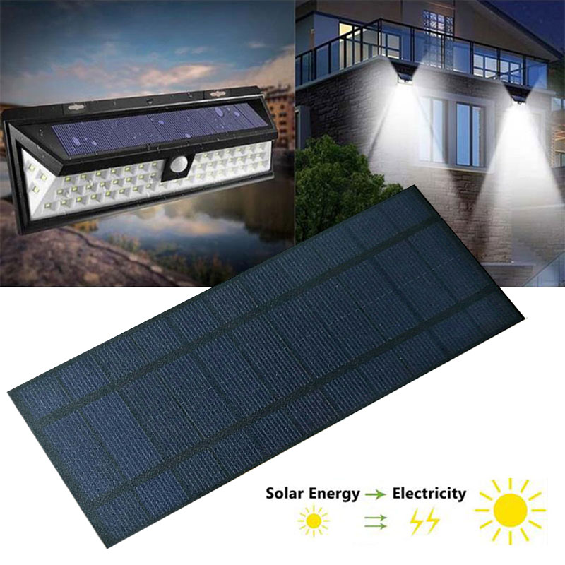 Solar Panel 2V 5V 6V 12V Mini Solar System DIY For Battery Cell Phone Chargers Portable Solar Cell 0.3W 0.8W 1W 1.2W 1.5W 2W 5W 4
