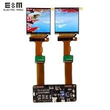 2.9 นิ้ว 2K 2880*1440 120Hz Dual หน้าจอ LCD DP TO MIPI สำหรับ AR VR MR HMD ชุดหูฟัง DIY ชุดสนับสนุน Windows MAC