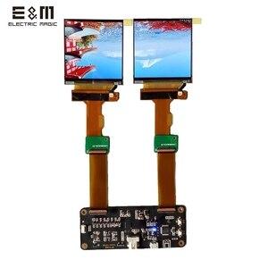 Image 1 - شاشة 2.9 بوصة 2K 2880*1440 120Hz شاشة LCD مزدوجة DP إلى MIPI مراقب ل AR VR MR HMD سماعة عرض لتقوم بها بنفسك مجموعات دعم ويندوز ماك