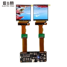 2.9 inch 2K 2880*1440 120Hz Dual LCD Screen DP to MIPI Monitor for AR VR MR HMD Headset Display DIY Kits Support Windows MAC