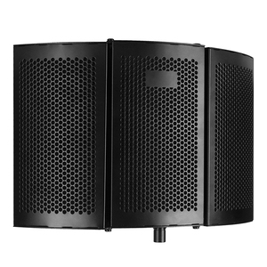 Image 1 - קצף פנל קול בולם סטודיו הקלטת מתקפל מסנן מיקרופון הפחתת רעש מקצועי שמשות בידוד מגן