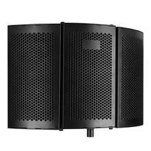 Schäume Panel Sound Absorber Studio Aufnahme Faltbare Filter Mikrofon Noise Reduktion Professionelle Windschutz Isolation Schild