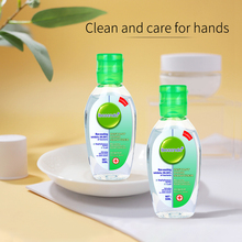 50ml Portable Instant Hand Sanitizer Antibacterial Gel 65% Ethanol Disposable Waterless Hand Gel Handgel Disinfection Kids Adult
