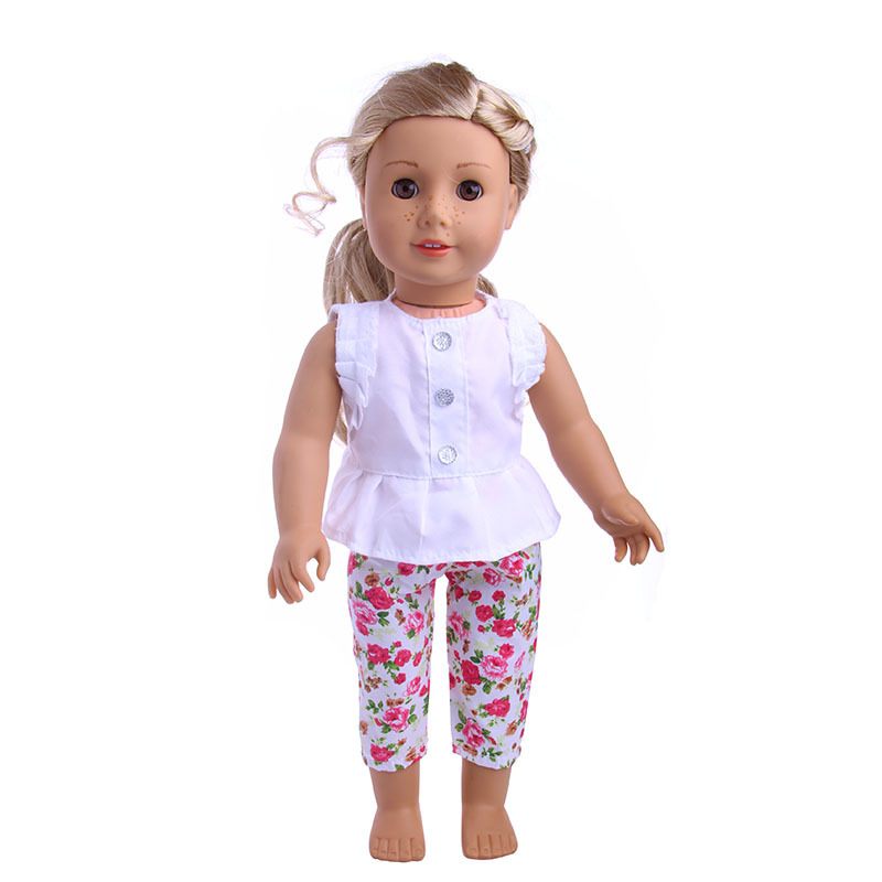 2020 Cute Summer Dress New Born Baby Doll Clothes for 18