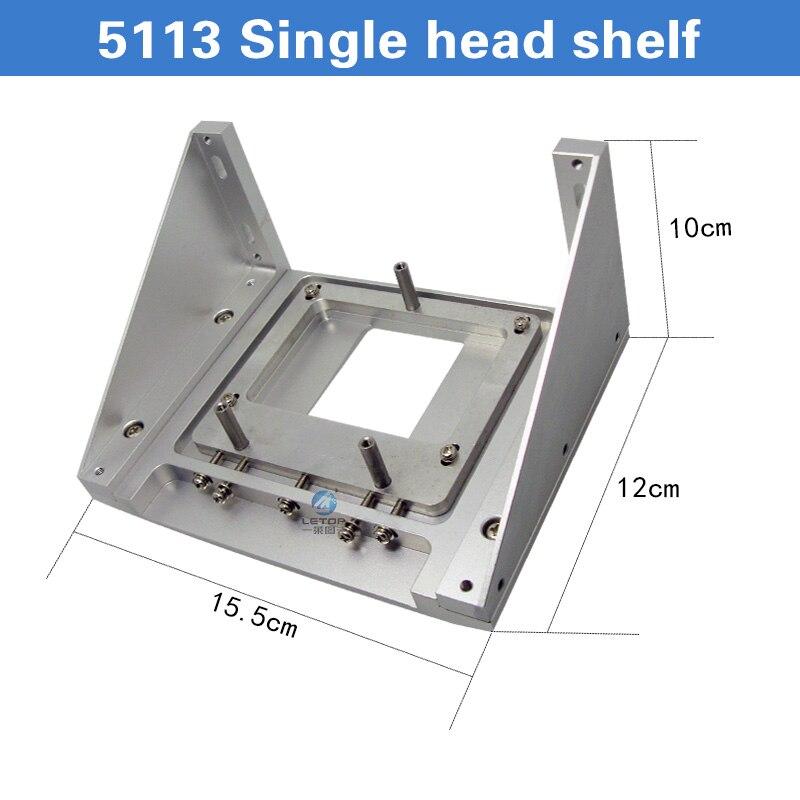 A getto d'inchiostro Della Stampante Staffa In Metallo Per 5113 DX5 DX7 XP600 Singolo Supporto della Testina