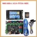 MKS GEN L V2.0 + MKS TFT24 LCD touch screen günstige 3D elektronische karte TFT 2,4 zoll display openbuilds für 3d drucker starter