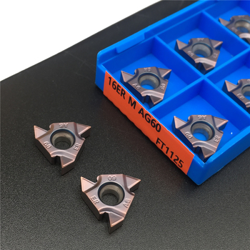 цена на 16ER M AG60 FT1125 Carbide Inserts High quality Thread Turning tool cutting Lathe Tools Milling cutter CNC 16ERAG60